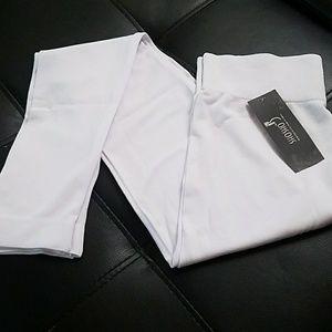NWT white leggings